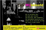 flyer cafe wijbeleefd theatergroep wij beleefd